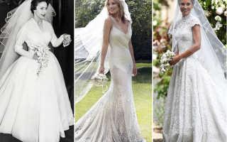 Самые шикарные свадебные платья: фото