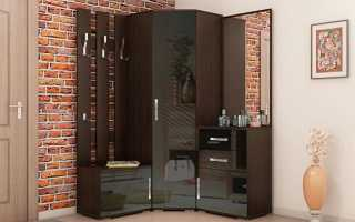 Угловой шкаф в прихожую: дизайн, размеры и выбор