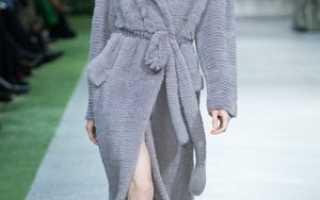 Шуба из вязаной норки: описание с фото, модели