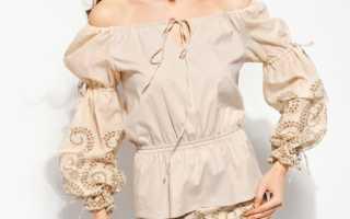 Блузка-крестьянка: описание с фото, модели, отзывы