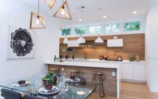 Зонирование кухни: способы, правила и интересные идеи
