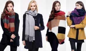 Виды шарфов и их названия