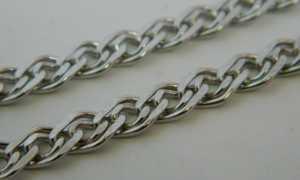 Плетения серебряных цепочек: описание и фото