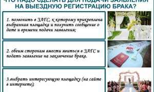 Выездная регистрация: особенности, стоимость и порядок проведения