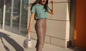 Юбка карандаш длины миди: с чем носить, фото