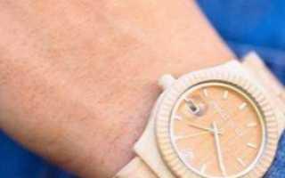 Деревянные наручные часы: описание с фото, модели