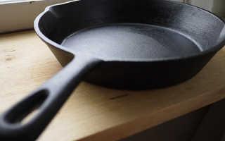 Все о чугунных сковородах