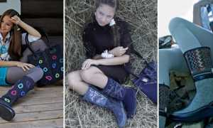 Женские сапоги-валенки: описание с фото, модели
