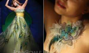 Платья из органзы – загадочная прозрачность и праздничность