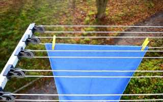 Настенные сушилки для белья на балкон: разновидности, выбор и установка