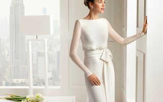 Скромное свадебное платье – идеальное решение для целомудренных невест