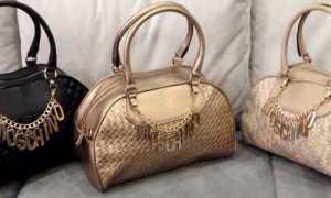 Сумки Moschino: с чем носить, фото