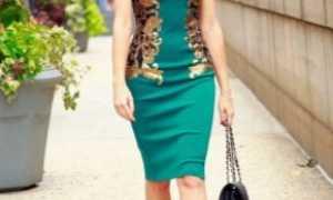 Какие туфли подойдут к зеленому платью?