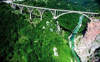 Мост Джурджевича: описание, где расположен и как добраться?