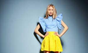 Желтые юбки: с чем носить, фото