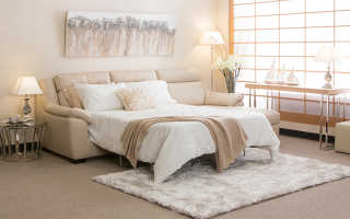 Диваны с большим спальным местом: особенности, виды и выбор
