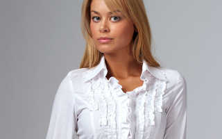 Блузки с рюшами: описание с фото, модели, отзывы