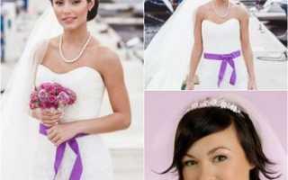 Как сделать простую и эффектную прическу на свадьбу своими руками?