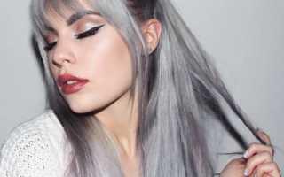 Пепельно-черный цвет волос: варианты окрашивания и последующий уход