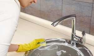Чем лучше отмыть раковину?