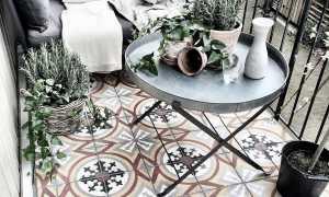 Балкон в скандинавском стиле: идеи отделки, рекомендации по обустройству