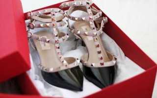Туфли Valentino: описание с фото, модели