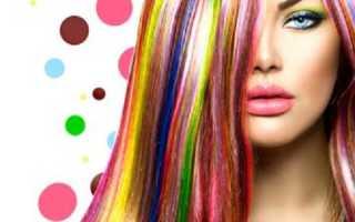 Неоновая краска для волос: плюсы и минусы, правила применения