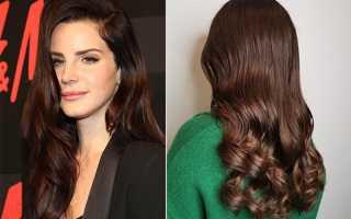Холодный каштановый цвет волос: кому подходит и как добиться нужного цвета?