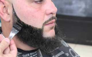 Бритьё бороды и усов