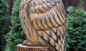 Как вырезать сову из дерева?