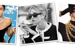 Бижутерия Шанель – признак безупречного вкуса