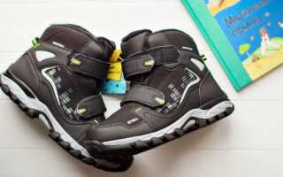 Детские мембранные ботинки: с чем носить