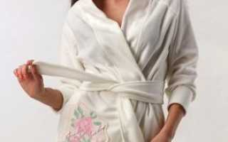 Белый халат: описание и фото