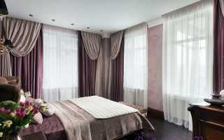 Какие шторы подойдут в светлую спальню?
