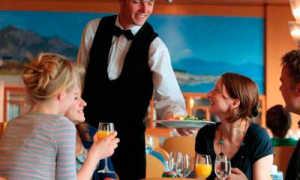Основные правила ресторанного этикета