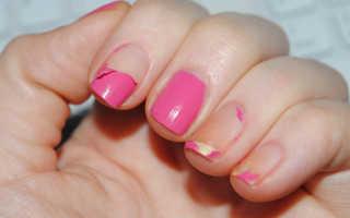 Почему гель-лак плохо держится на ногтях?