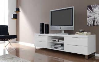Мебель в гостиную под телевизор: виды, производители и советы по выбору