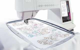 Швейно-вышивальные машины: какими бывают и как выбрать?