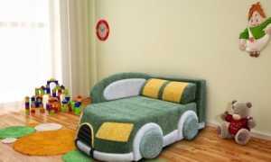 Выбираем детский диван в виде машины