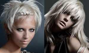 Модные стрижки для блондинок