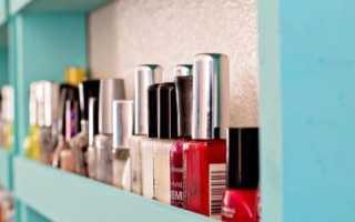 Срок годности и особенности хранения лака для ногтей