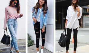 Женские джинсовые брюки: с чем носить