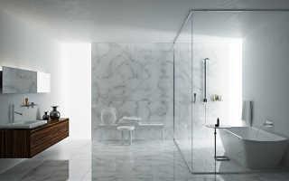 Оформление ванной в стиле минимализм