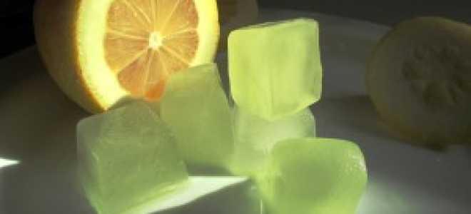 Особенности умывания льдом