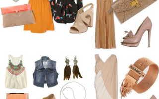 Бежевые босоножки на каблуке: с чем носить