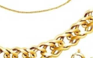 Золотая цепочка-шнурок: описание и фото