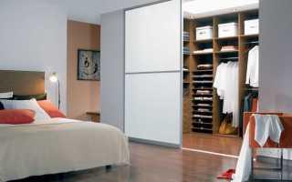 Гардеробная для спальни: как выбрать и расположить?