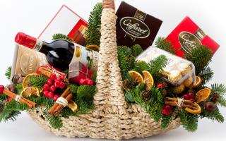 Как собрать продуктовую корзину в подарок на Новый год?