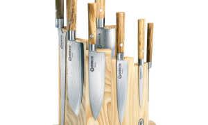 Подставка для ножей своими руками: способы изготовления