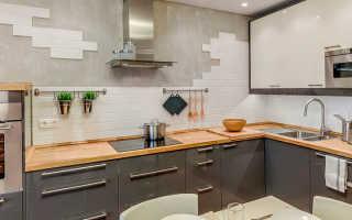 Фартук для кухни под кирпич: дизайн, материалы и советы по выбору